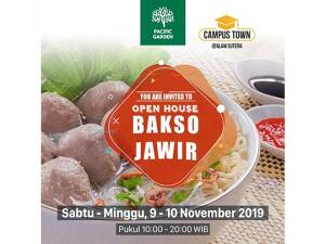 "Pacific Garden Open House ""Bakso Jawir"""