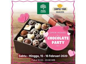 Pacific Garden Open House Chocolate Party 15-16 Februari