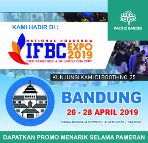 Pacific Garden Style di National Roadshow IFBC