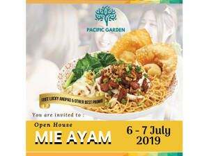 "Pacific Garden Open House ""Mie Ayam"""
