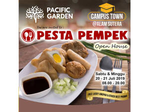 "Pacific Garden Open House ""Pesta Pempek"""