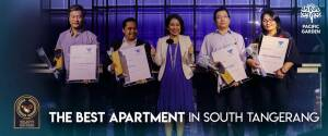 "Pacific Garden Raih Penghargaan ""The Best Apartment in South Tangerang"""