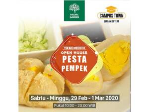Pacific Garden Open House Pesta Pempek 29 Feb - 1 Maret 2020