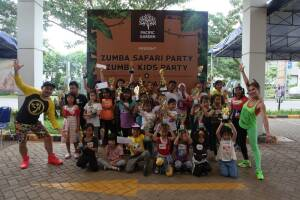 Pacific Garden Menggelar Zumba Kids Party & Zumba Safari Party
