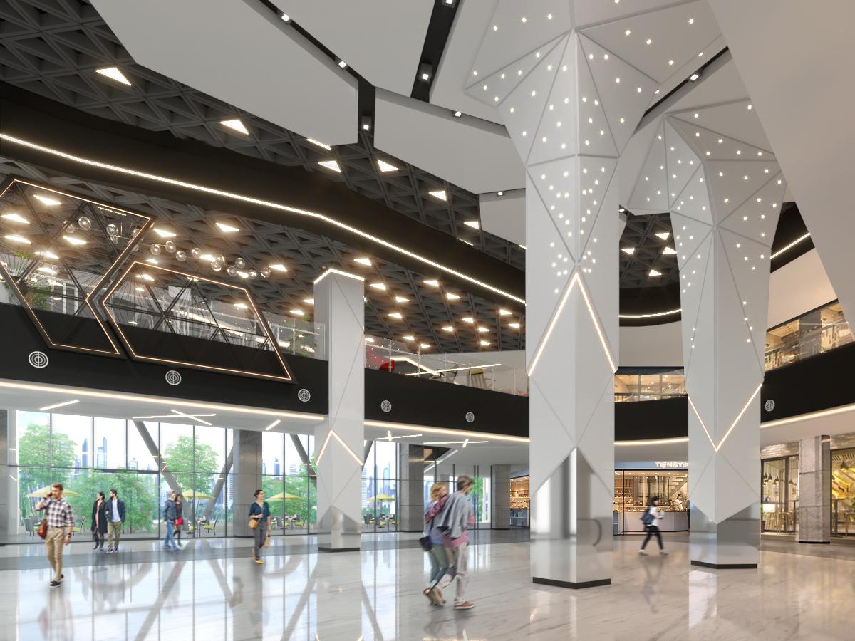 Atrium 1 Hall 02 copy copy - Pacific Garden Campus Town @Alam Sutera